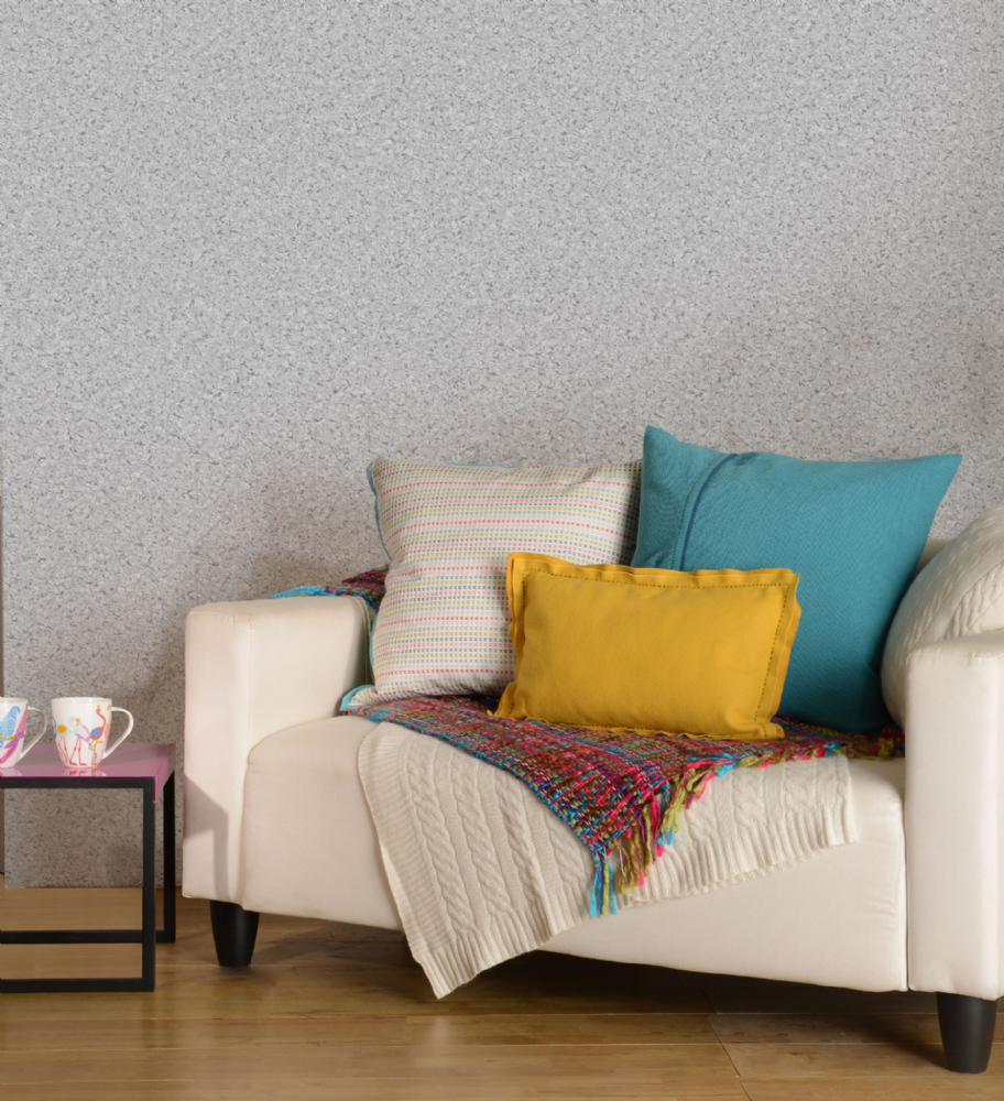 Holden Decor Cork Texture Grey 22260 Wallpaper